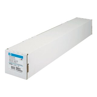 HP paper coated universal 24/36/42 Zoll 45,7m 90g/m2